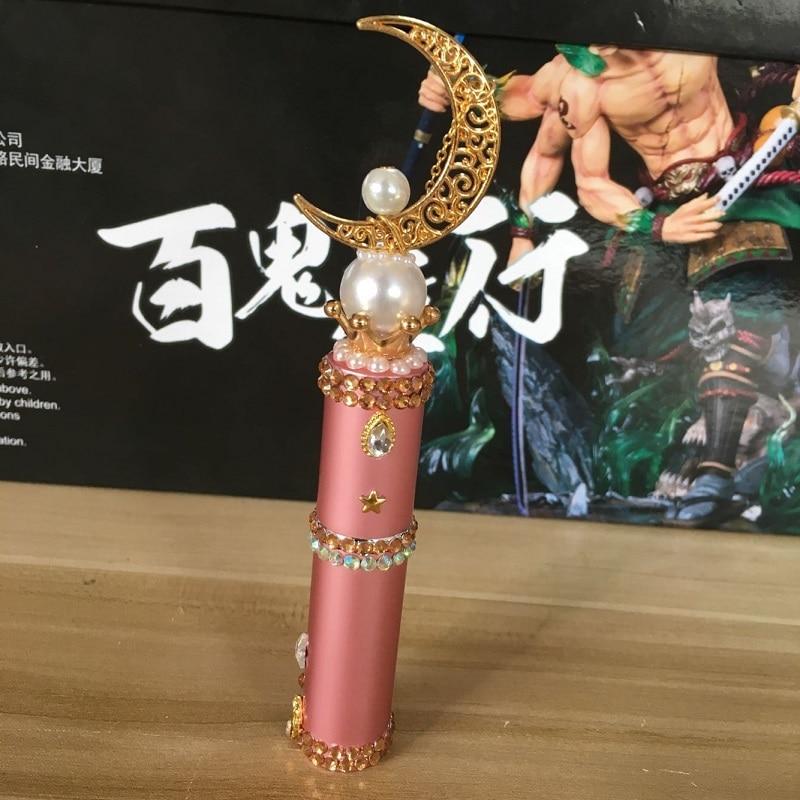 Image 2 - Japan Anime Sailor Moon card captor sakura action figure printed Perfume Bottles handmade Cosplay Toys doll Gift DropshippingAction & Toy Figures   -