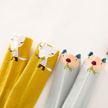 Nan tong House Hose Baby Socks Spring And Autumn Newborns Socks Cartoon Boots Socks Men And Women Hose BABY'S Socks(China)