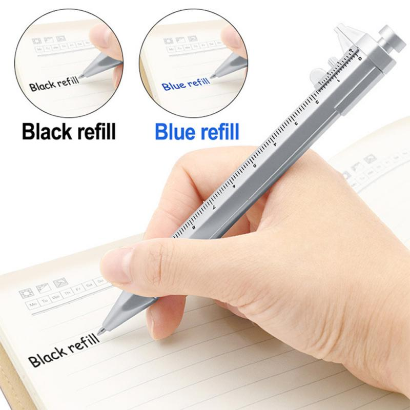 Stationery Measuring Writing-Instrument Multifunction Caliber Roller Plastic 1PC Pen