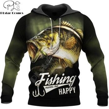 Carp fishing hoodie dark green