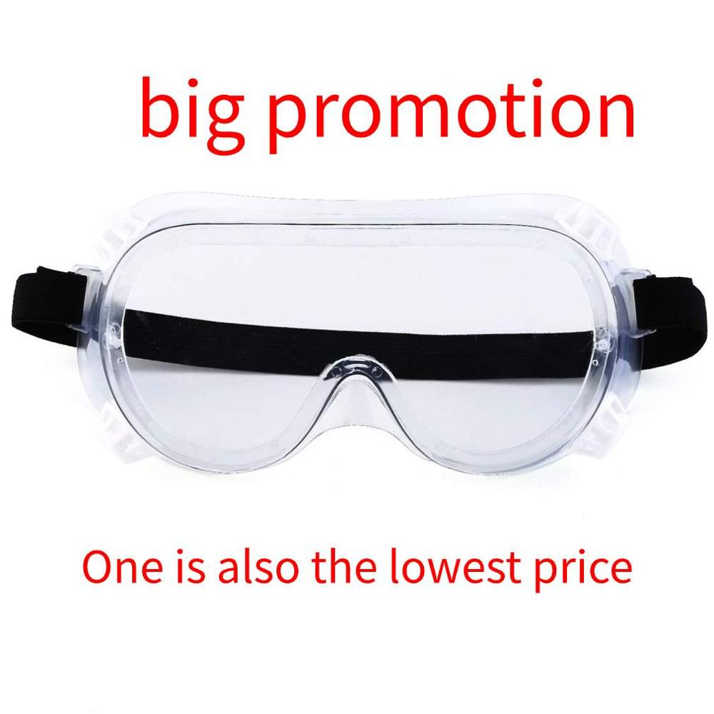 1 PCS Hot Sale Promotion Safety Glasses Eye Protection Medical Protective Eyewear Workplace Safety Goggles Anti-dust Supplies