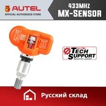 Autel TPMS MX الاستشعار 433MHz 315MHz الاستشعار مبرمج العالمي مستشعر تساوي ضغط الإطارات اختبار الضغط البرمجة MaxiTPMS TS601