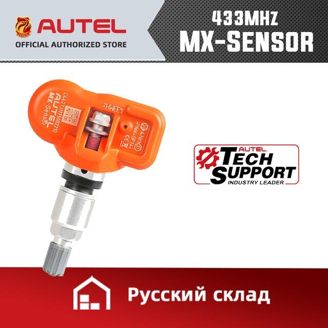 Autel tpms mxセンサー 433mhz 315 433mhzのセンサープログラマユニバーサルtpmsセンサー圧力テスタープログラミングmaxitpms TS601