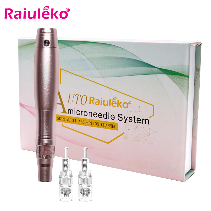 MYM MTS Ultima A1 Electric Skin Care Kit Tools Micro Needling Microneedling Mesotherapy Auto Micro Needle Roller With 12 Needles
