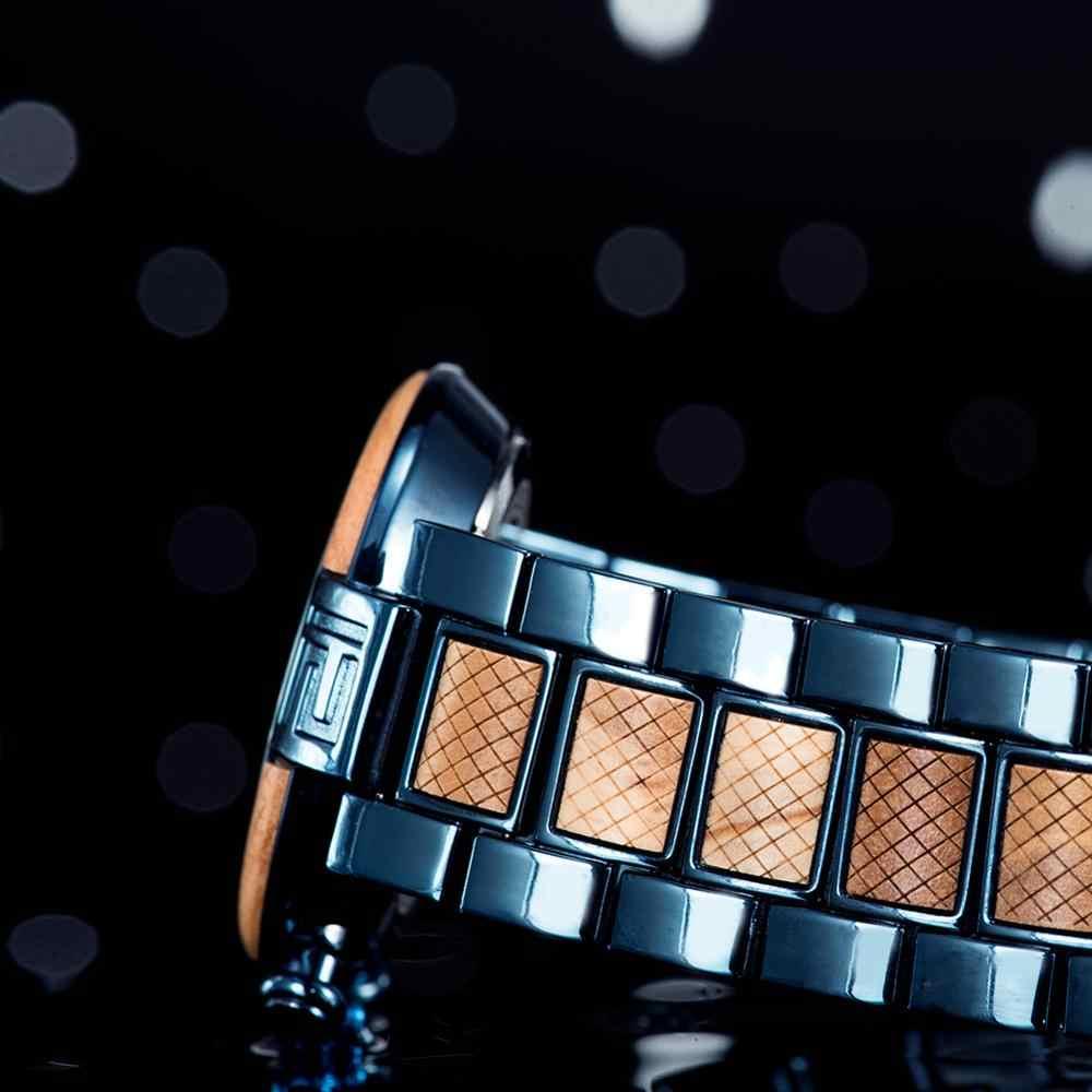 BOBO ptak drewna zegarek Relogio Masculino mężczyźni prezenty luksusowe stylowe zegarki Chronograph wojskowe zegarki sportowe часы мужские