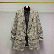 Повседневный женский костюм пальто Высококачественная модная