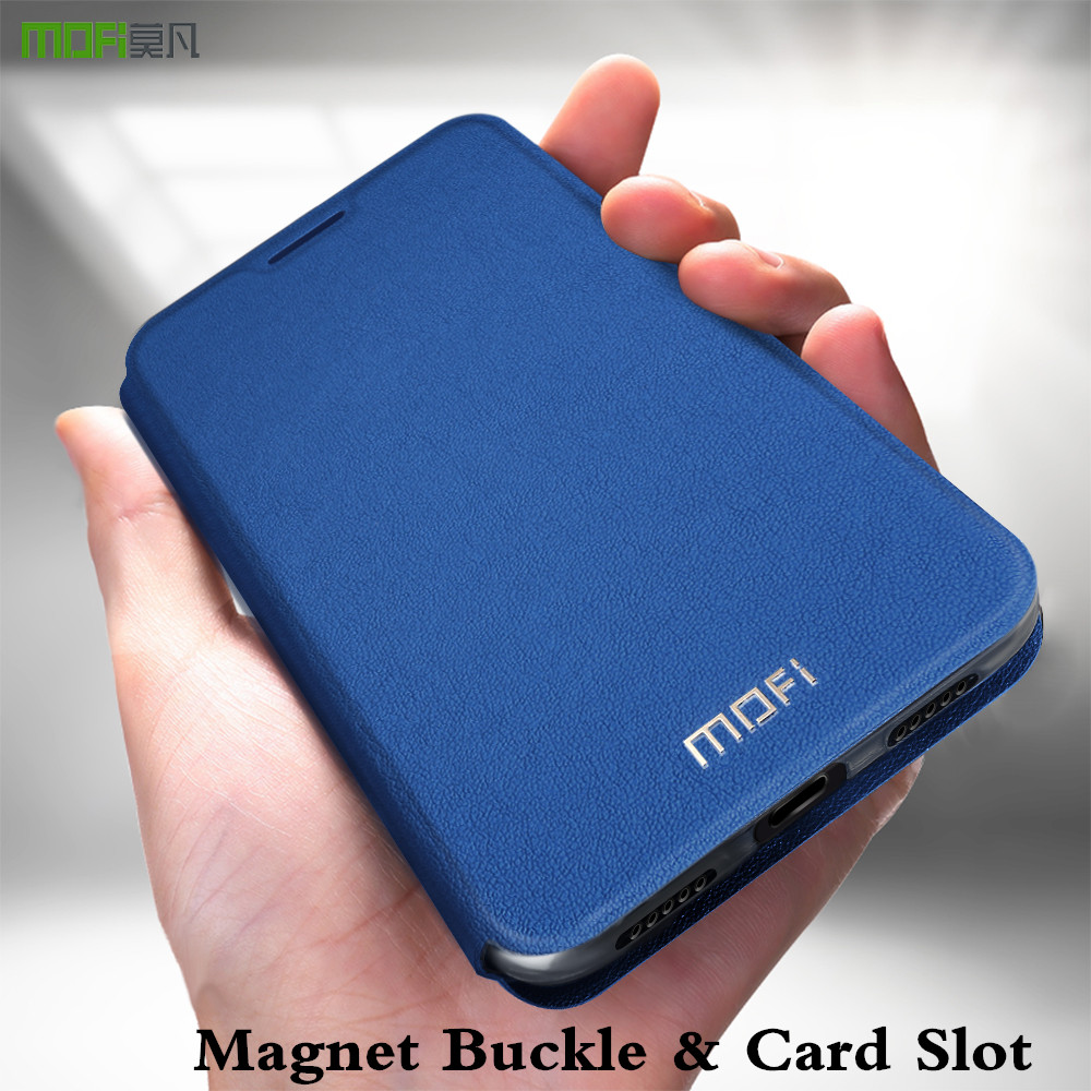 MOFi <font><b>Flip</b></font> Case <font><b>Cover</b></font> For <font><b>OPPO</b></font> <font><b>Find</b></font> X2 Leather Magnetic For Findx2 Stand Housing Card Slot TPU PU Leather For <font><b>X</b></font> 2 Book Anti Fall image