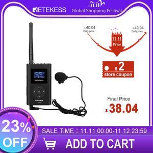 Image 1 - Retekess FT11 0.3W FM Wireless Transmitter MP3 Broadcast Radio Transmitter for Church Car Meeting Tour Guide System