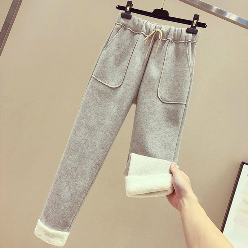 Womens Winter Thicke Warm Thermal Pants Sweatpants Fleece Lined Trousers Pants