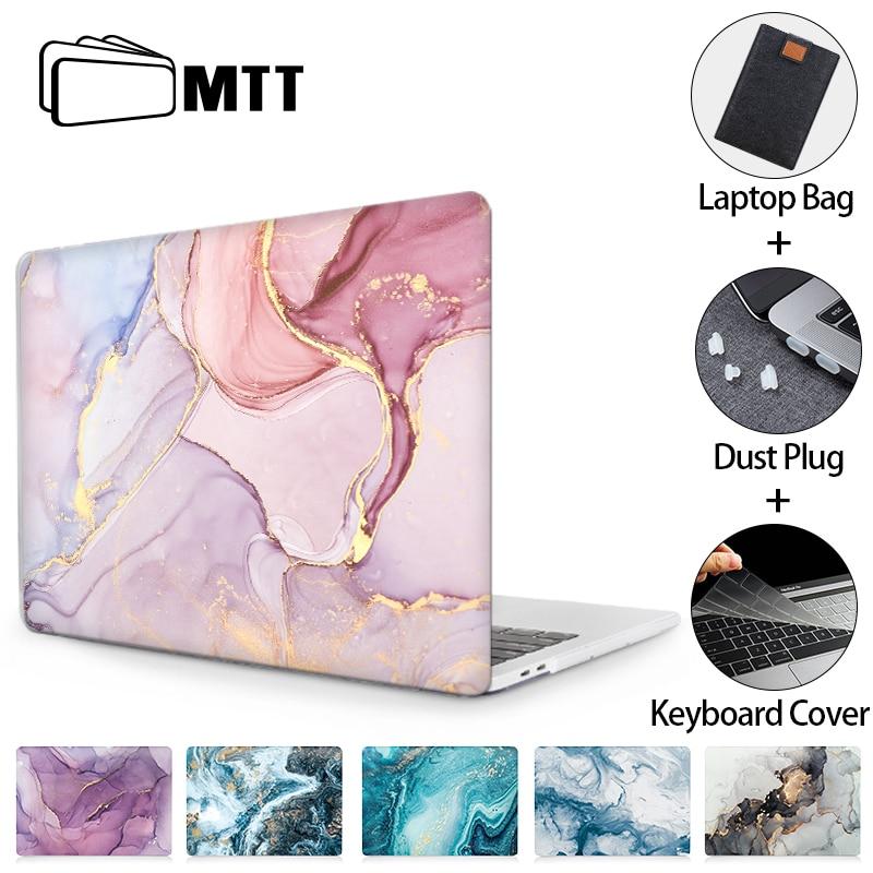 Mtt caso do portátil para macbook air pro 11 12 13 15 16 mármore capa dura para macbook air 13 m1 funda a2337 a2179 a1466 a2289 a2338