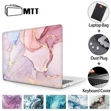МТТ чехол для ноутбука Macbook Air Pro 11 12 13 15 16 мраморный жесткий чехол для Macbook Air 13 M1 Funda a2337 a2179 a1466 a2289 a2338