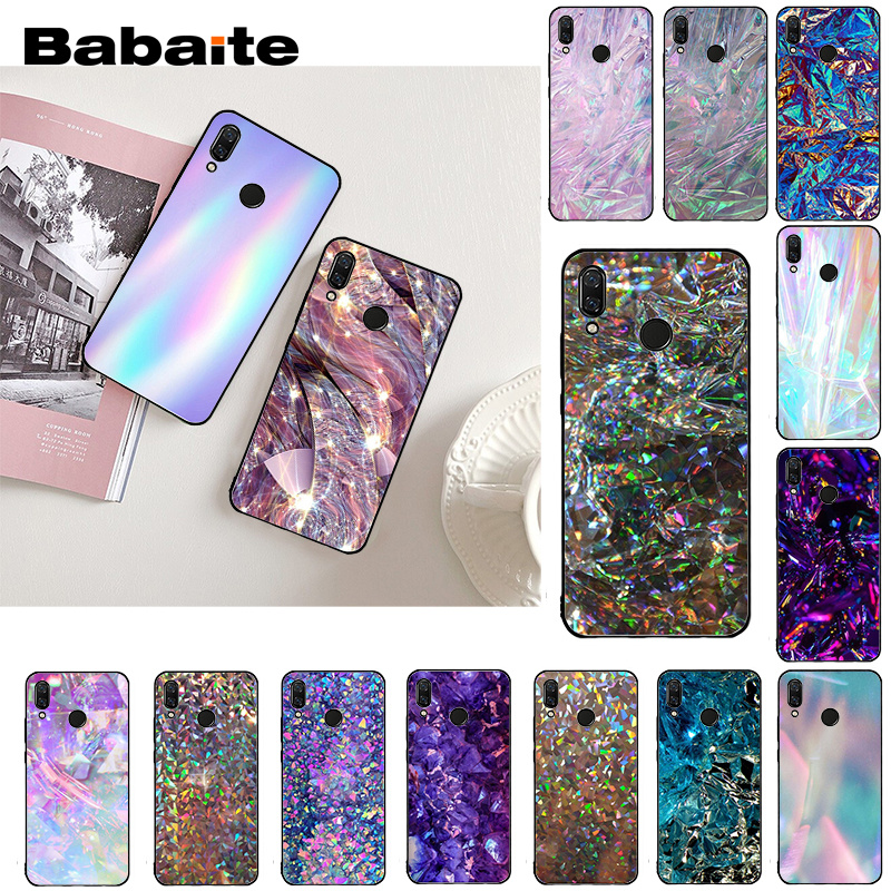 Babaite Crystal Diamond Aesthetic Art pastel Phone Case for Xiaomi Redmi8 4X 6A 9 Go Redmi 5 5Plus Note8T Note8Pro(China)