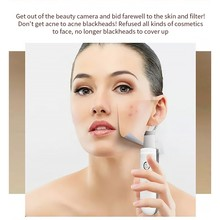 Ultrasonic Skin Scrubber Deep Face Cleaning Machine Remove Dirt Blackhead Peeling Lifting Anti Aging Facial Cleaner Massager
