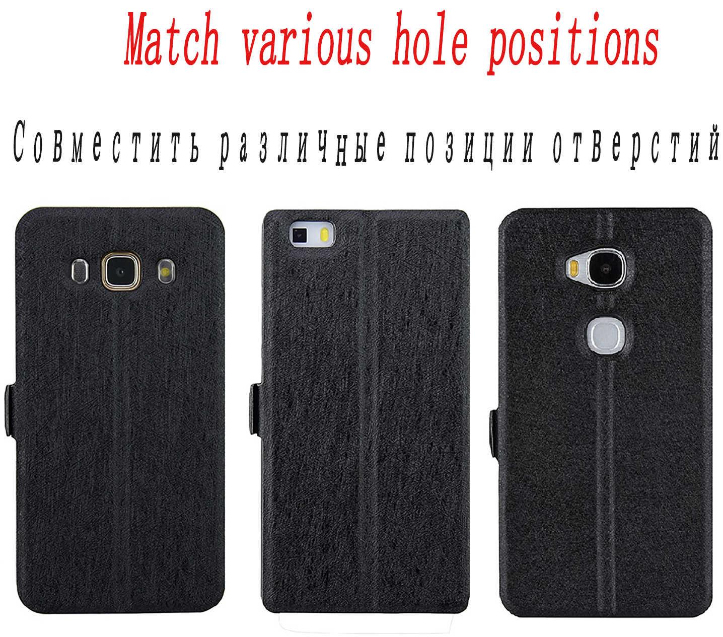 Dompet Kasus untuk Archos 50F Neon 60 Platinum Inti 55P 55 50P Berlian Alpha Plus Gamma Omega 47X phone Case Flip Cover Kulit
