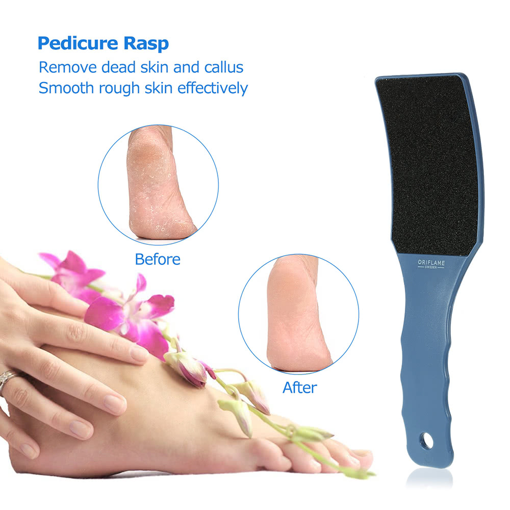 Double Side Blue Foot Rasp Large Pedicure Rasp Foot File Professional Callous Remover Foot Grinding Hard Skin Remove Tool