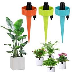 Podlewanie roślin regulowane stawki System kroplownik doniczkowe podlewanie artefakt kroplówka leniwy podlewanie urządzenie z tworzywa sztucznego przesiąkanie wody w Zestawy do podlewania od Dom i ogród na