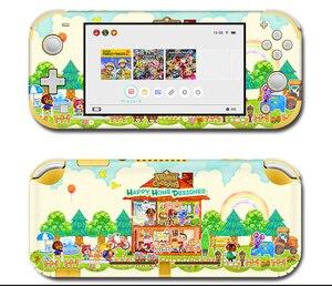 Image 3 - Vinil ekran cilt koruyucu çıkartmalar Nintendo anahtarı için lite konsolu hayvan geçişi Skins