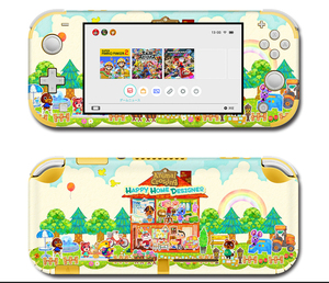 Image 3 - Vinyl Screen Skin Protector Stickers for Nintendo Switch lite Console Animal Crossing Skins