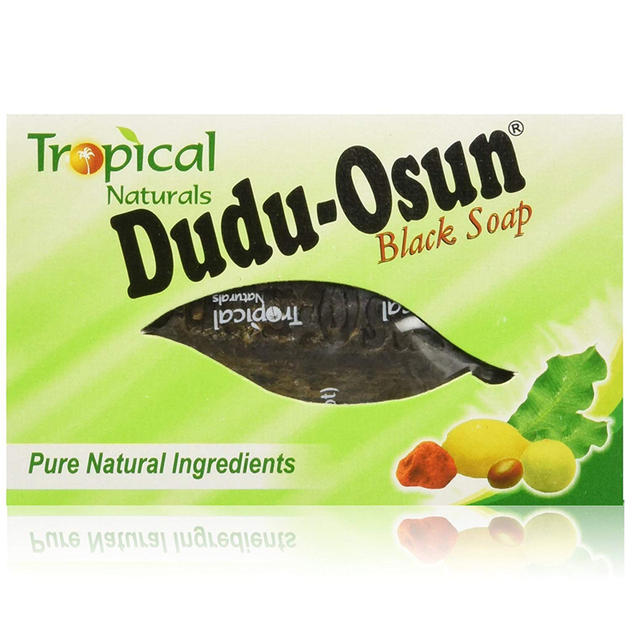 150g Tropical Dudu Osun African Natural Black Soap with Natural Ingredient African Soap Shea moisture Noir Honey Cocoa Aloe 4