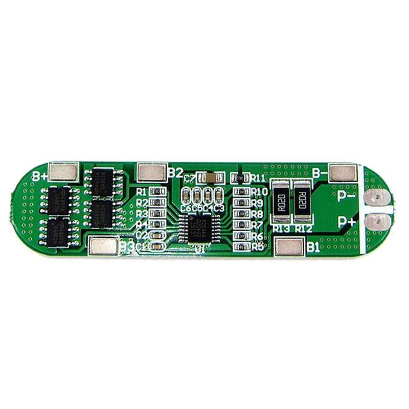 Top 4S 6A 14.8V litowo akumulator litowo-jonowy 18650 Bms pakiety ochrona obwodu Pcb pokładzie