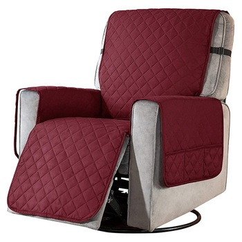 Removable Towel Recliner Cover With Pockets 4 Chair And Sofa Covers