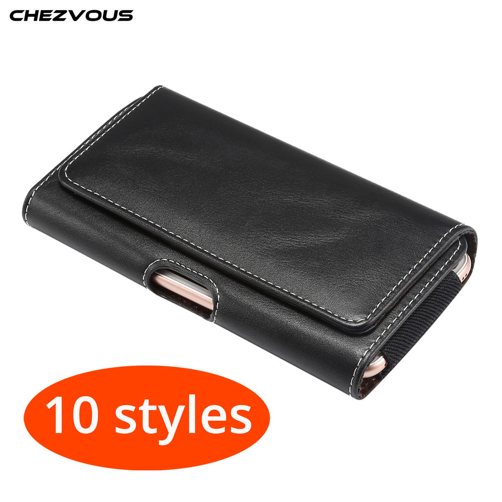 10 Styles Universal phone Bag Belt Clip Case Holster for Samsung Huawei Xiaomi for iPhone 6s 7 8 plus X XR XS MAX Capa