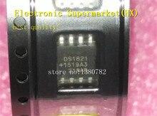 Бесплатная доставка, 50 шт./лот DS1821S DS1821 SOP 8, новая оригинальная фотография