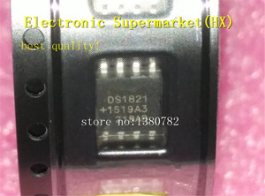 Image 1 - Free Shipping 50pcs/lots DS1821S DS1821 SOP 8  New original  IC In stock!