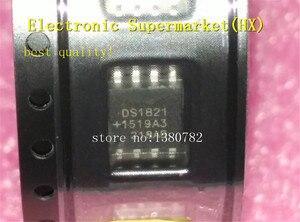 Image 1 - Ücretsiz Kargo 50 adet/grup DS1821S DS1821 SOP 8 Yeni orijinal IC stokta var!