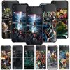 Smartphone Case For Samsung Galaxy Z Flip3 5G Z Flip 3 z flip ZF 5G Cover PC Capa Hard Funda Coque Marvel manga