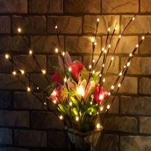 20LED Willow Tree Branch Light Home Party Garden Decor Fairy String Lamp Outdoor