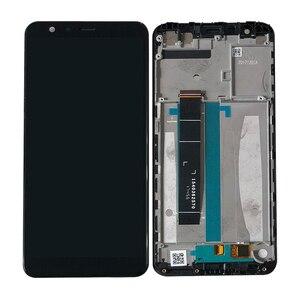 Image 5 - Оригинальный ЖК экран 5,7 дюйма M & Sen для Asus Zenfone Max Plus M1 ZB570TL X018DC + дигитайзер сенсорной панели с рамкой ZB570TL
