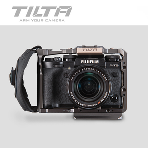 Image 2 - TILTA ramka do kamery DSLR do Fujifilm XT3 X T3 i X T2 uchwyt rękojeści aparatu fujifilm xt3 akcesoria do klatek VS SmallRig