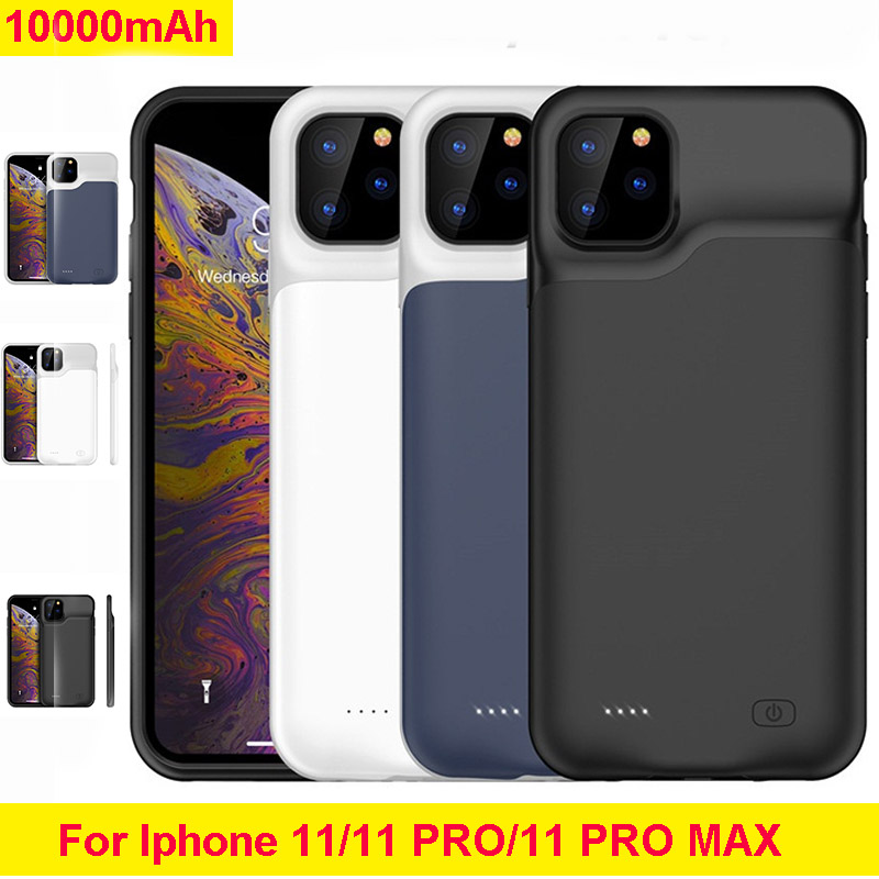 10000mah Slim Silicone shockproof Power bank charger case For iPhone 11 Pro case Battery Charger Case For iPhone 11 i11 Pro Max