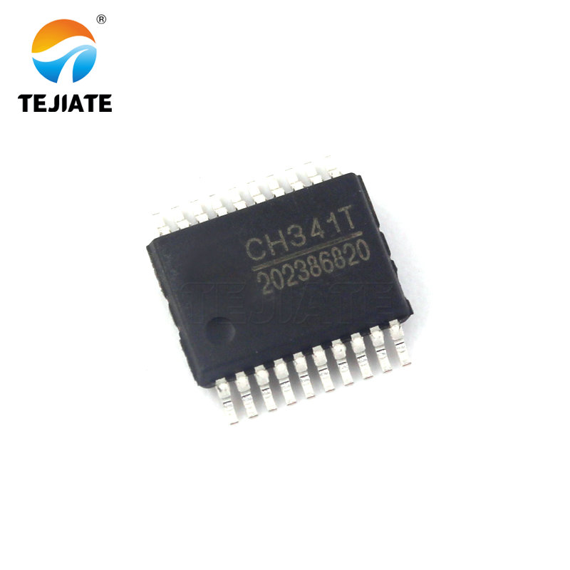 1PCS CH341T CH341 CHIP <font><b>SSOP</b></font>-20 USB <font><b>Adapter</b></font> image