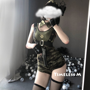 Image 2 - Sexy Costume Army Uniform Roleplay Policewoman Soldier Dress Halloween Party Military Cosplay Clothing Erotic Lingerie Set