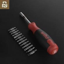Youpin Wiha 26 in 1 Cacciavite Kit con Nascosta Rivista di Design di Precisione in Acciaio Al Cromo Vanadio Dual end Bit