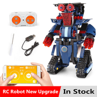 Robot RC Diy blocks Technic power function smart tracked Remote Control fit BOOST motor Building technic Blocks Bricks kids Toys