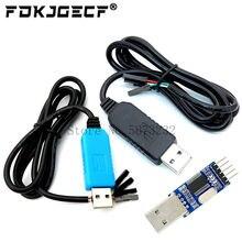 Pl2303 pl2303hx/pl2303ta usb para rs232 ttl conversor adaptador módulo com capa à prova de poeira pl2303hx para cabo de download arduino