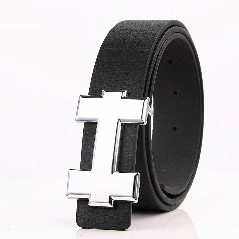 Luxury Brand Belts For Women Waist Men Belt High Quality Cinturon Mujer PU Leather H Belt For Jeans Fashion Designer Waistband