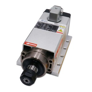 Image 5 - Gratis Verzending Cnc 220V 380V 2.2KW Vierkante Luchtkoeling Spindel 2200W Luchtgekoelde Freesspindel + vfd Inverter + 13 Stks/set ER20