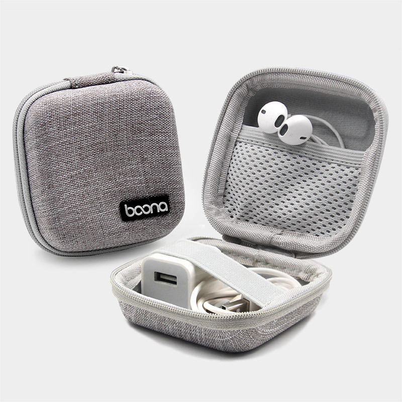 Mini Travel Carry Headphone Data Cable Storage Box Charger U Disk Memory Card Digital Organizer Key Zipper Pouch Kit Accessories