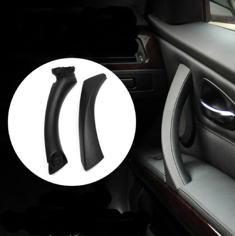 Car door handle Inner Outer Door Panel Handle & Pull Trim Cover Right Side for BMW 3series 325 318 330 335 E90/E91/E93