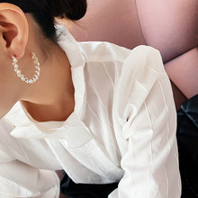 Moda europa e americana estilo s925 pinos de plata para mujer aretes colgantes super flash simples ronda lujo strass joye