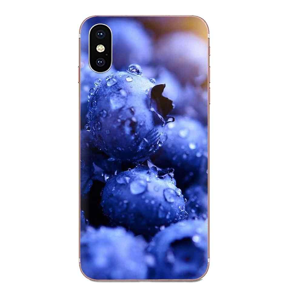 Для Xiaomi Redmi Note 2 3 3S 4 4A 4X5 5A 6 6A Pro Plus силиконовый чехол клубничный фруктовый