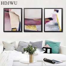 Nordic Art Home Decor Canvas Painting Wall Picture Abstract Printing Poster for Living Room  DJ398
