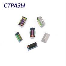 CTPA3bI 4501 Baguette Crystal Vitrail Medium Needlework Beads For Jewelry Making Rhinestones Trim Accessories Craft Application