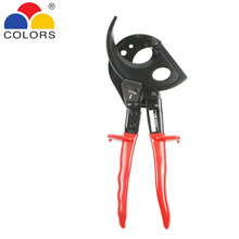 Professional Wire Cut Hand Tool 11 Inch Length Ratchet Cable Cutter