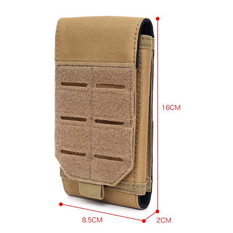 2020 New Laser Pouch Outdoor Military Tactical Molle Waist Accessories Bag Phone Belt Pouch Cell Phone Holder Mobile Phone Case