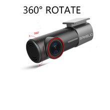 SAMEUO – Mini caméra de tableau de bord U700 FHD caché 1080P, caméra avant et arrière DVR avec WiFi, enregistreur vidéo FHD, moniteur de stationnement 24H